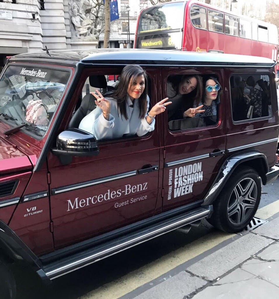 LFW takeover mercedes benz