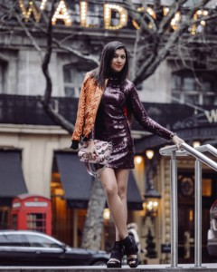 Style Traveller London Fashion Week Bonnie Rakhit rotary