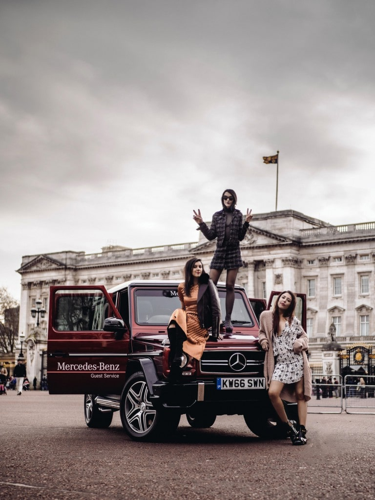 My London Fashion Week with Mercedes Benz