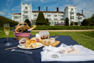 afternoon tea picnic danesfield house