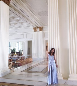The Style Traveller Bonnie Rakhit What to wear in Dubai Versace