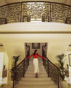 The Style Traveller A Stylish Spa Palazzo Versace Bonnie Rakhit fashion