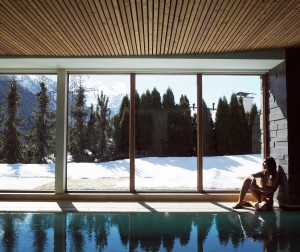 The Style traveller Bonnie Rakhit Austria ski tannenhof spa