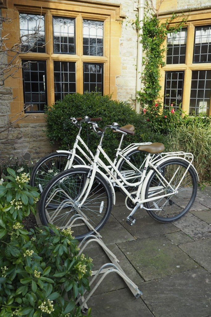 bicycles at Belmond Le Manoir Aux Quat Saison