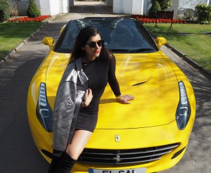 Bonnie Rakhit style traveller ferrari weekend