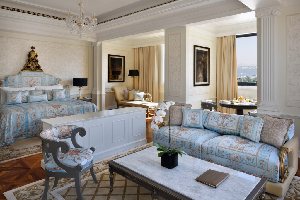 Dubai - A Stylish Spa Weekend at Palazzo Versace bedroom Imperial suit