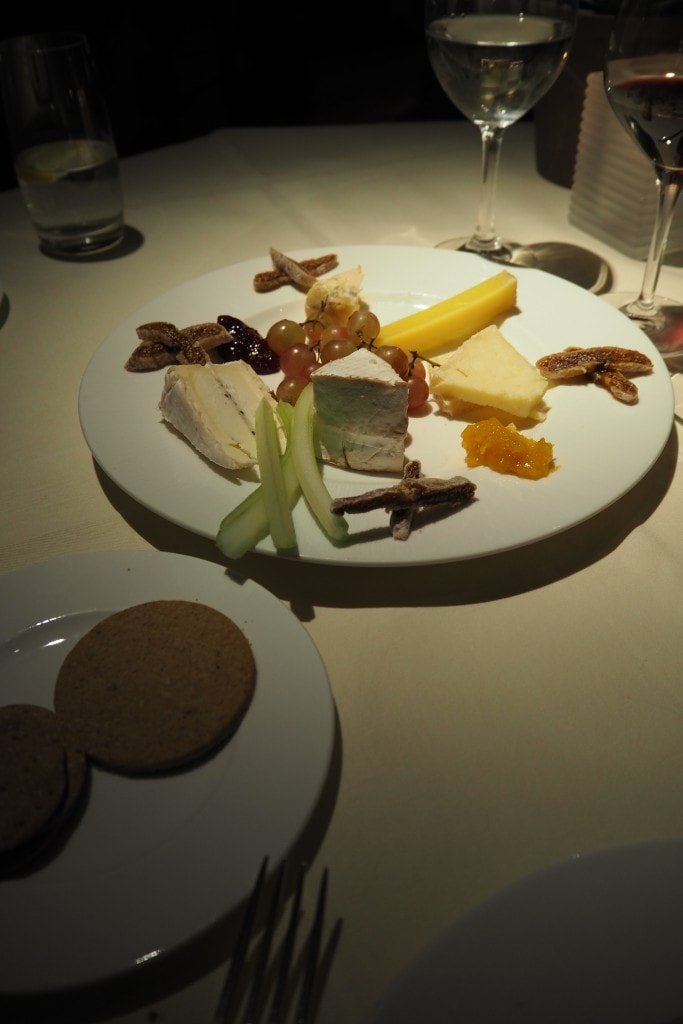 food cheese at Belmond Le Manoir aux Quat Saison