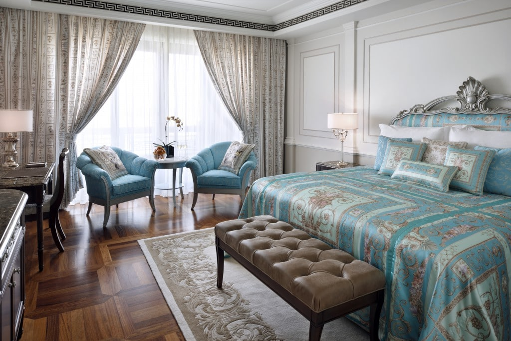 Dubai - A Stylish Spa Weekend at Palazzo Versace bedroom