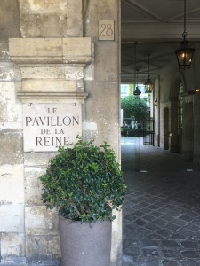 Pavillon de la reine Boutique hotels in Paris