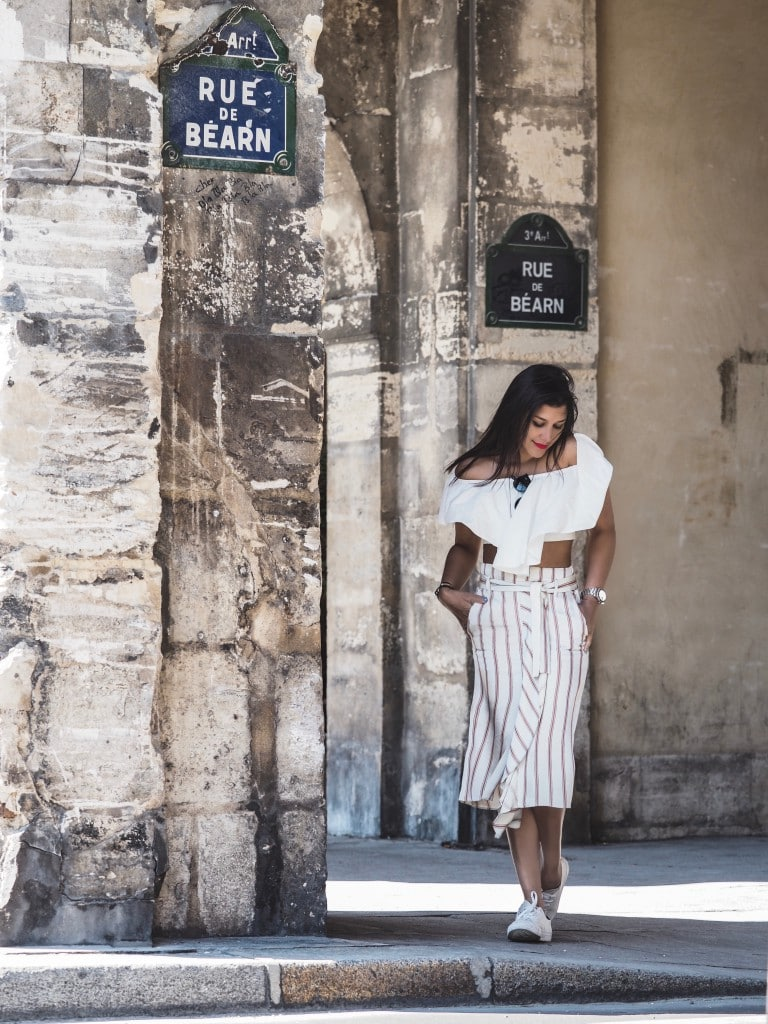 Bonnie Rakhit what to wear in Paris fashion