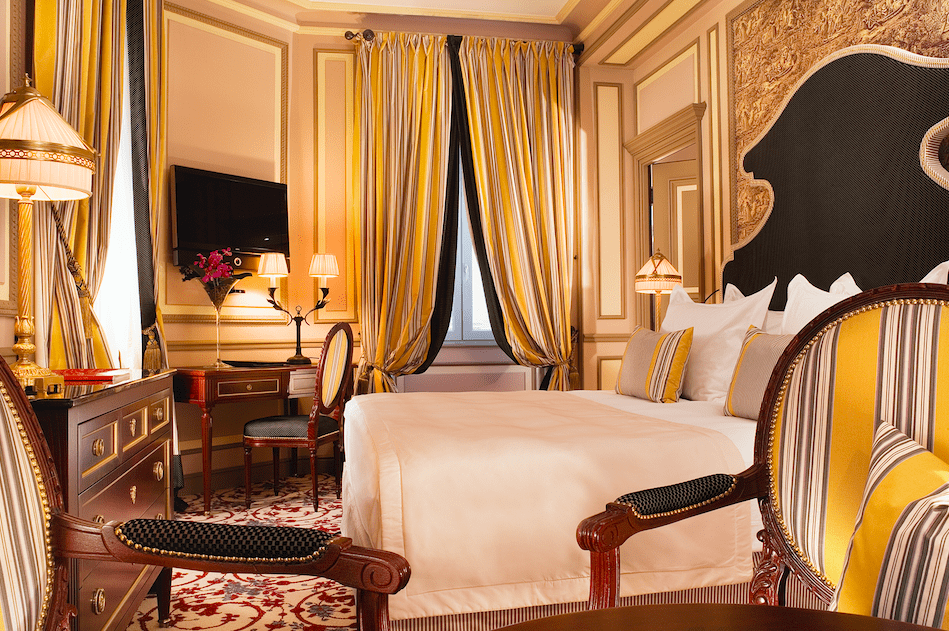 Grand Hotel de Bordeaux Intercontinental suites rooms
