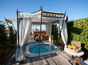 rooftop hot tubs france bordeaux