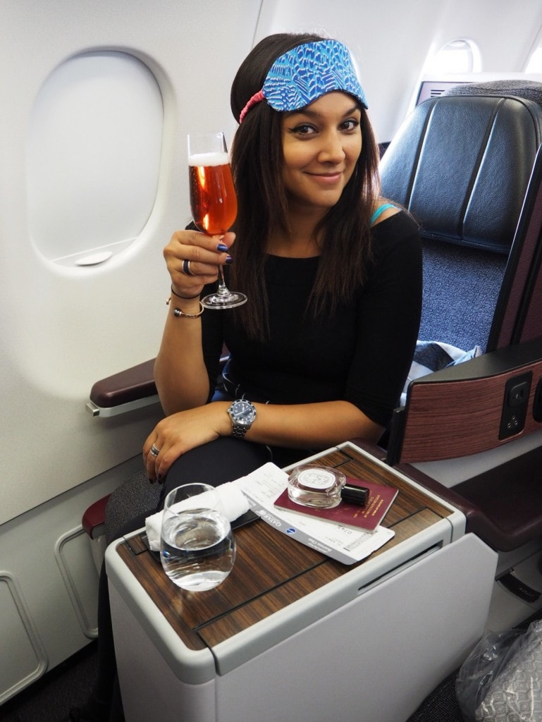 qatar airways business class the style traveller bonnie