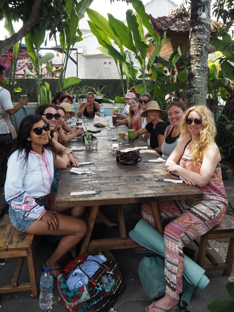 surf sistas at shadie shacks salad bowl Bali Canguu