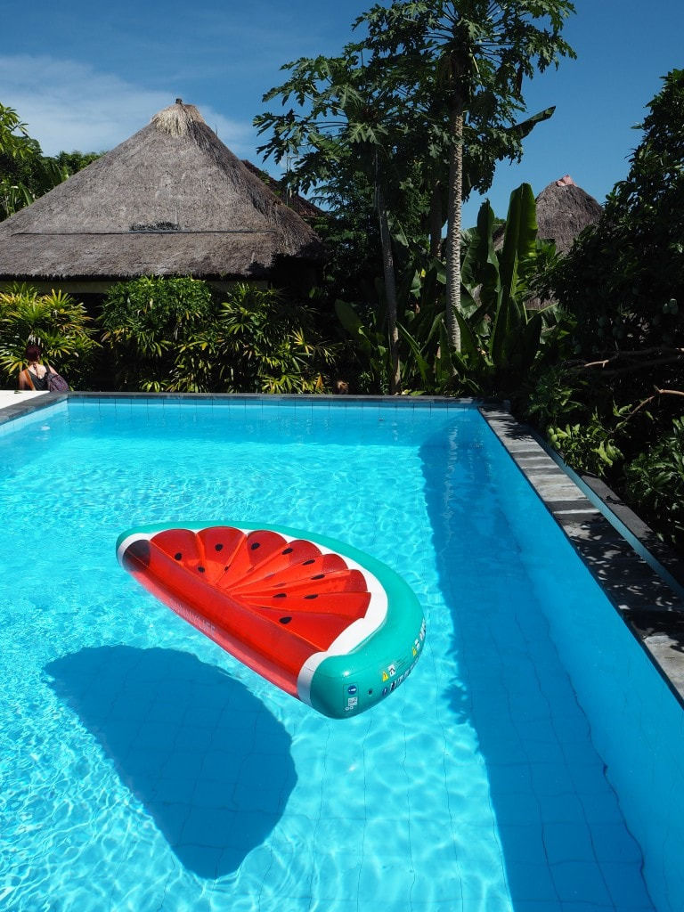 lembongen pandana boutique hotel watermelon