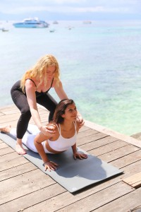 Bonnie rakhit style traveller yoga with Mel Enright