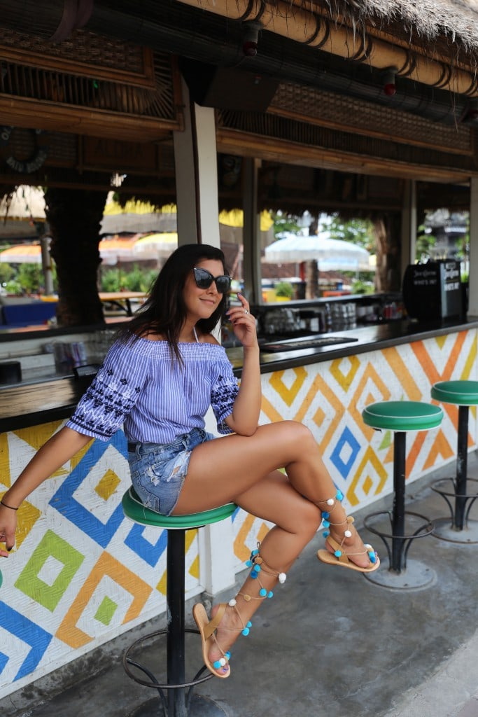 What to pack for Bali - Joules holiday capsule wardrobe