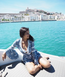 Bonnie Rakhit The Style Traveller at Ibiza Old Town