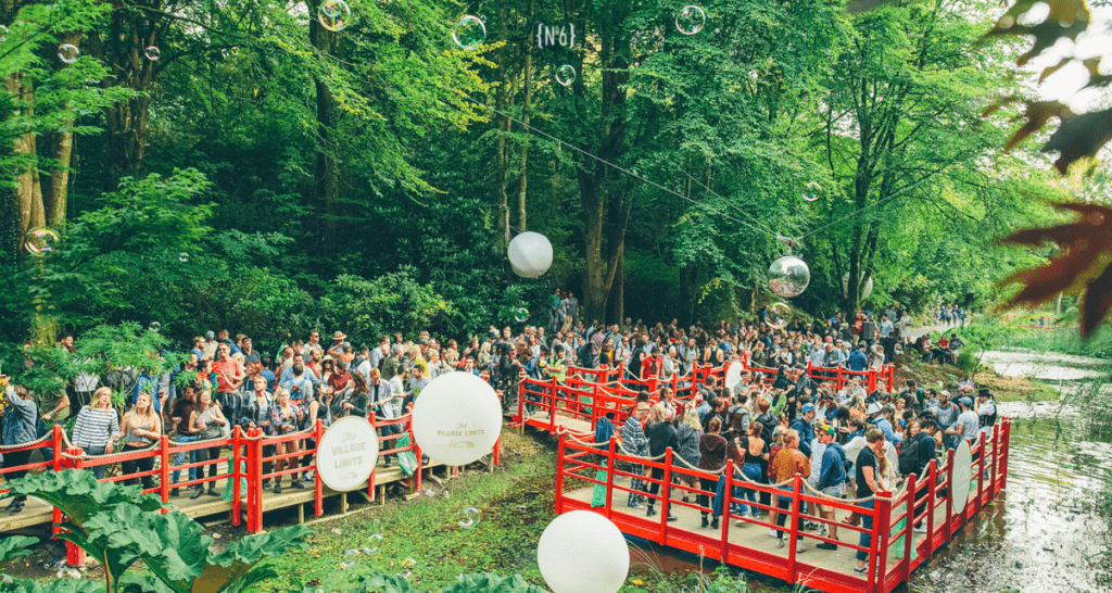 portmeirion festival no 6 win tickets competition floating stage