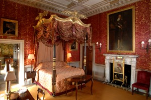 Holkham Hall bedroom