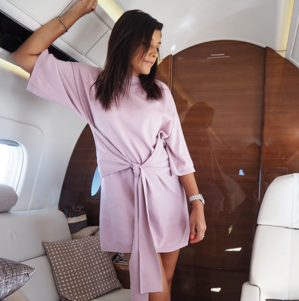 The Style Traveller what to wear on a flight