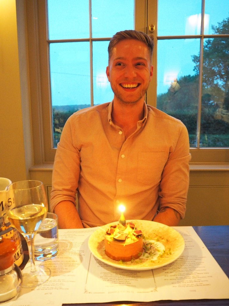The Victoria Inn Holkham Norfolk dinner style traveller birthday
