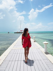 Bonnie The style Traveller Cayman Islands rum point