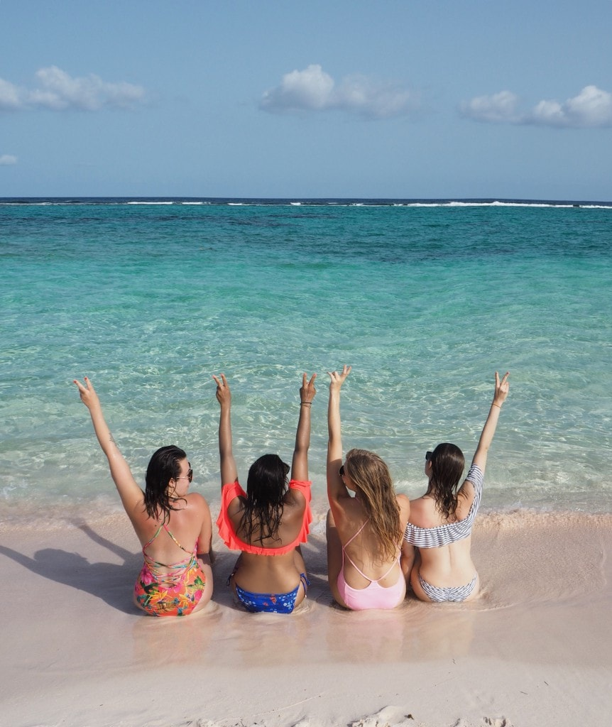 Caribbean holiday squad goals girls