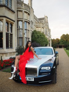 Bonnie Rakhit Style traveller what to wear in a rolls royce wraith