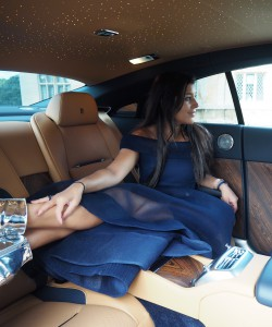 rolls royce prom queen bonnie rakhit photo shoot
