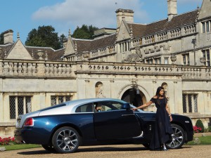 rolls royce stately home ball gown
