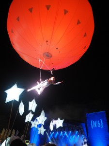 Illuminated parade festival no. 6 heliosphere