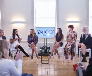 Yahoo style lounge panel discussion debate