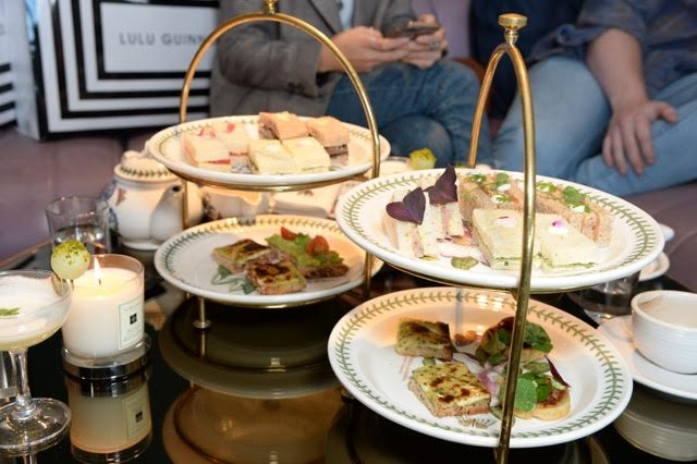 lulu guinness afternoon tea