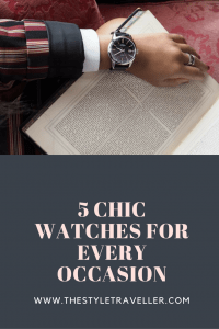 5 chic watches for Christmas