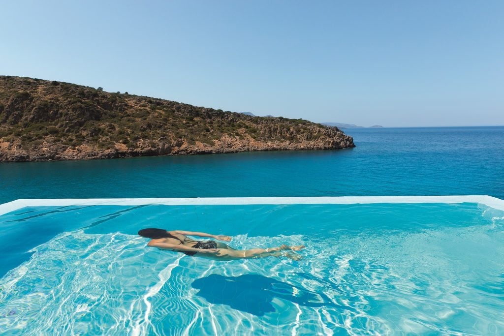 Daios cove swimming pool