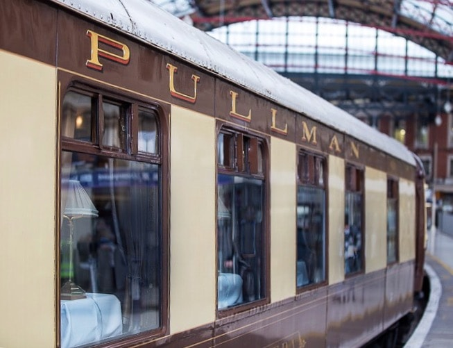 Great British Pullman orient express belmond
