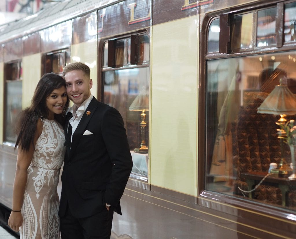 The great british belmond pullman train celebration night out
