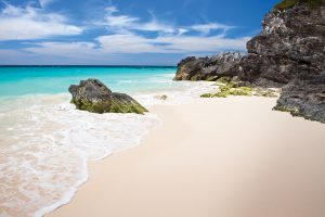 Private Beach bermuda white sand