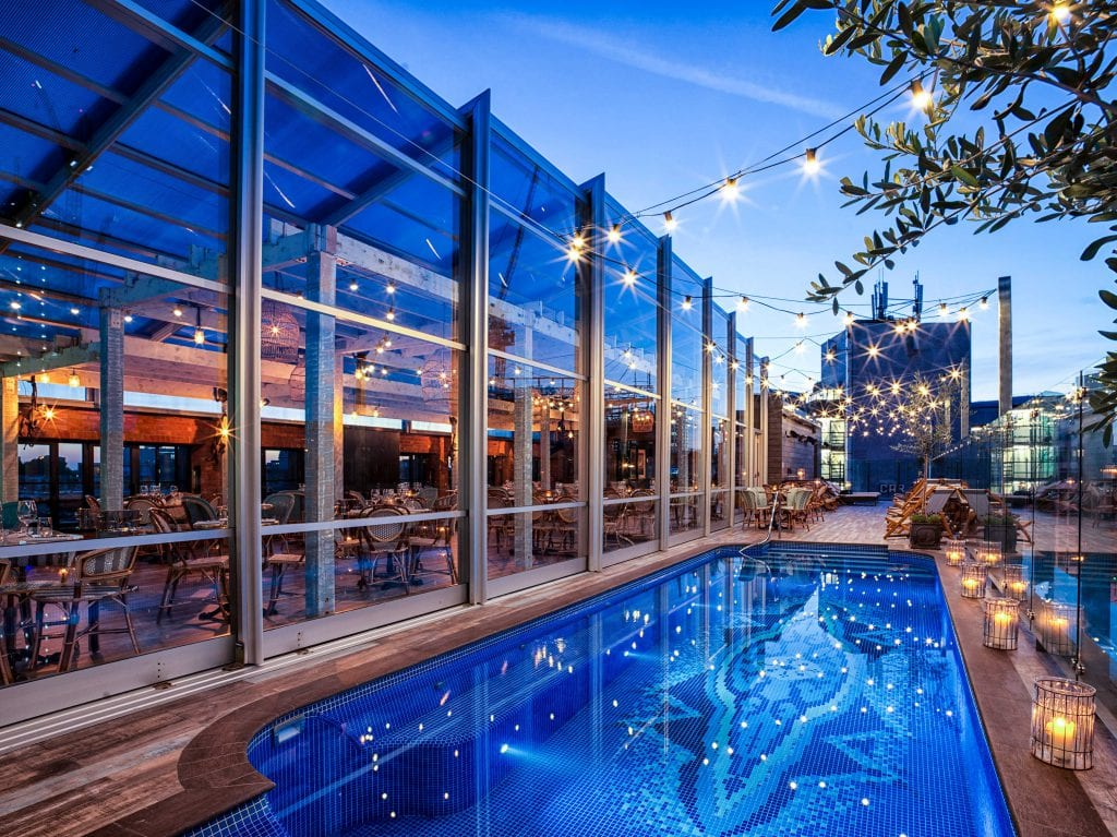 East london s coolest must see hotel travel for Outdoor pool london
