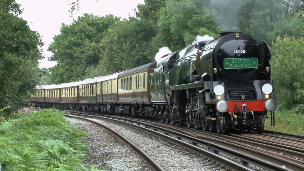 the belmond british pullman train
