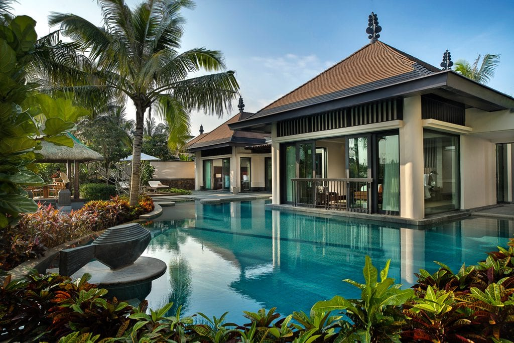 Raffles Hainan luxury hotel china pool suite