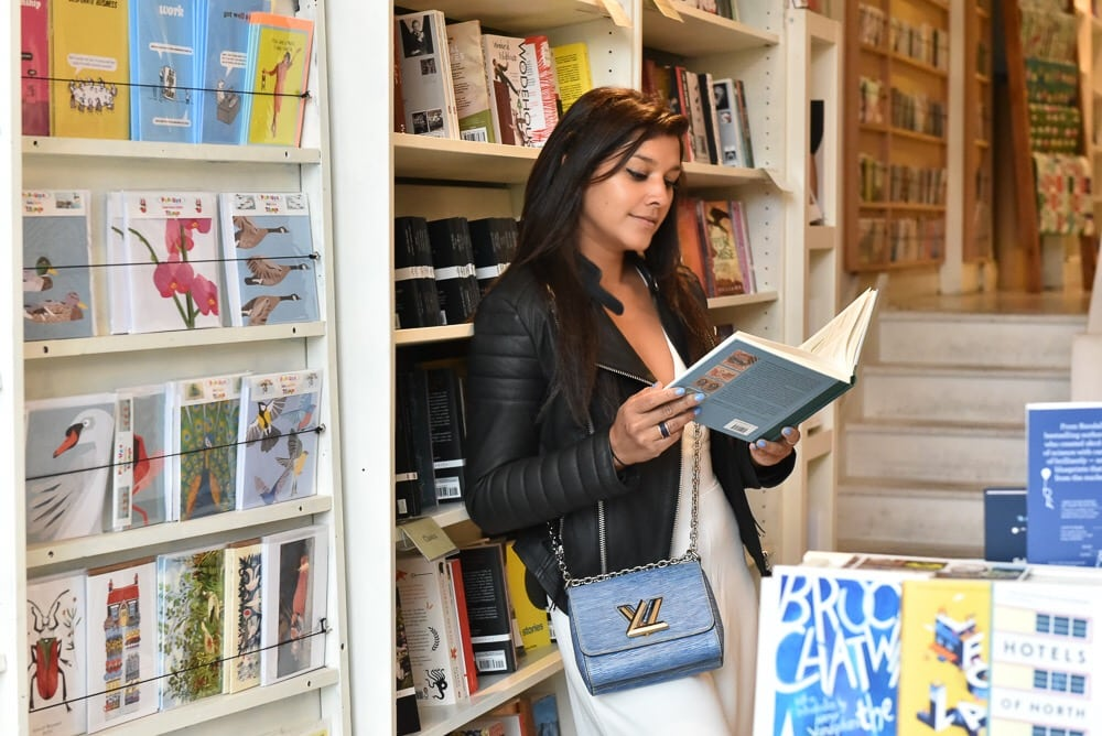 Bonnie Rakhit style traveller clapham book shopping guide