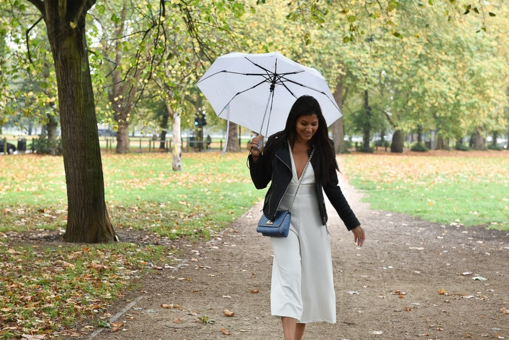 Bonnie Rakhit style traveller clapham common umbrella