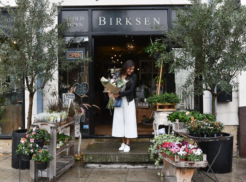 style traveller bonnie rakhit Birksens flower shop clapham common florist
