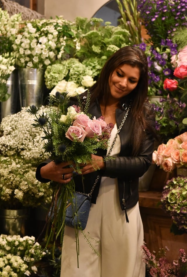 style traveller bonnie rakhit Birksens flower shop clapham common