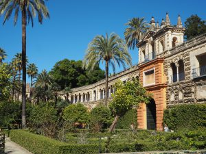 where is Dorne game of thrones locations alcazar palace