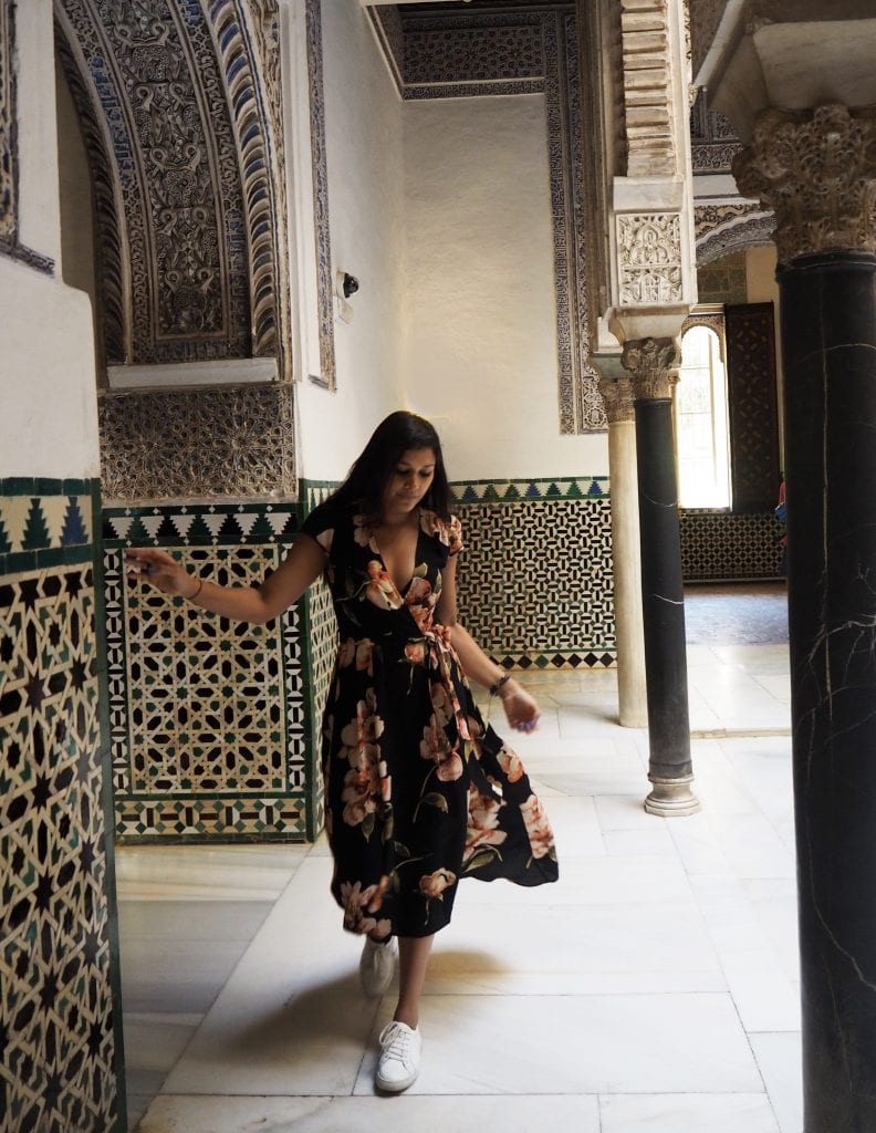 Bonnie Rakhit in game of thrones locations alcazar palace