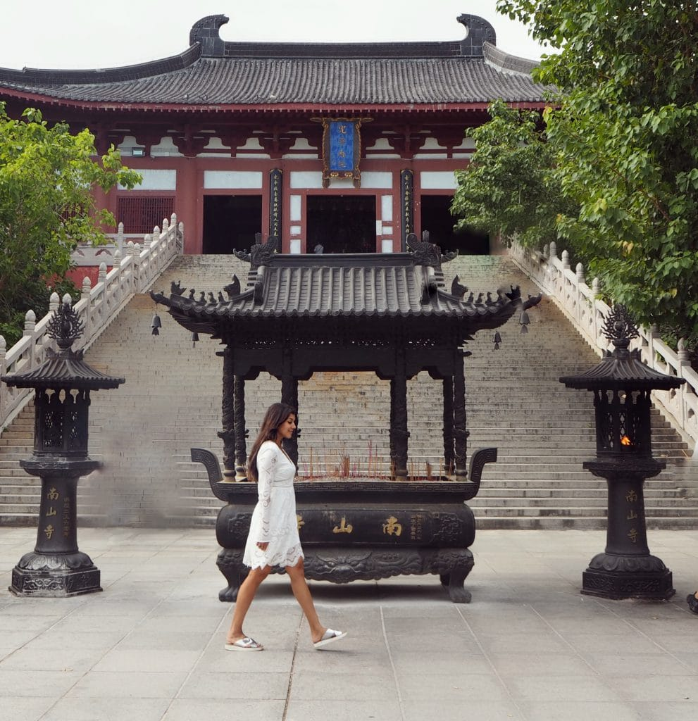 The Style traveller Hainan nanshan temple china