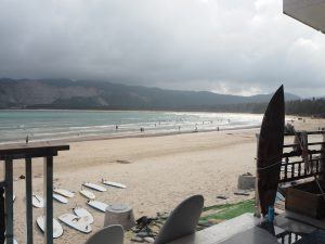 Surfing school hainan china beach
